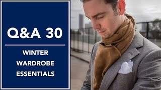Winter Wardrobe Essentials: Gloves, Scarves, And More - Q&A 30 | Kirby Allison