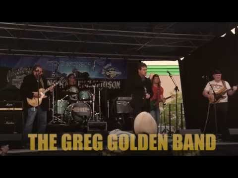 The Greg Golden Band performing at Street Vibrations 2014