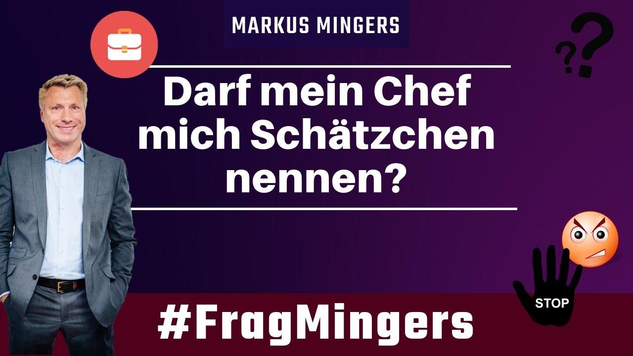 Darf mein Chef mich Schätzchen nennen? | #FragMingers