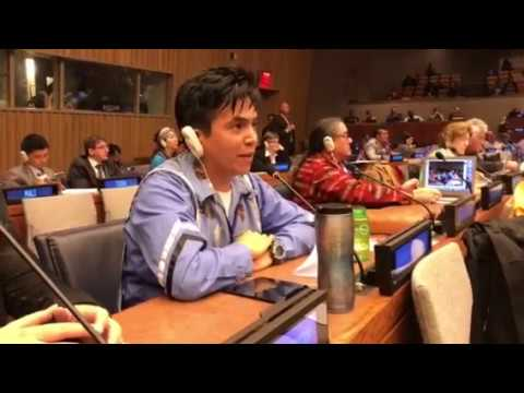 Ska7cis Manuel April 27, 2017 United Nations Permanent Forum on Indigenous Issues