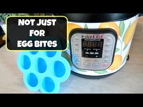 3 Instant Pot Recipes for the Egg Bites Mold