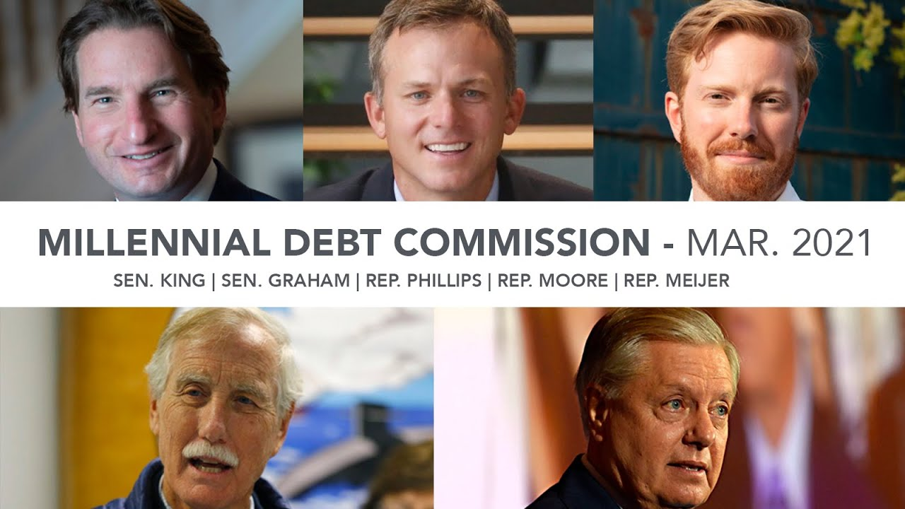 Debt Commission Hears from Sen. Graham and Sen. King At March Meeting
