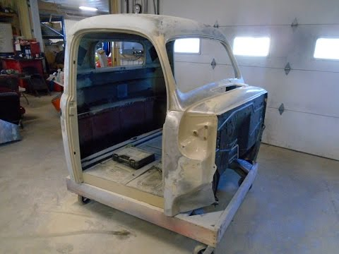 1950 Ford F47  F1 Truck Restoration Update Part 5 ,  lastchanceautorestore com