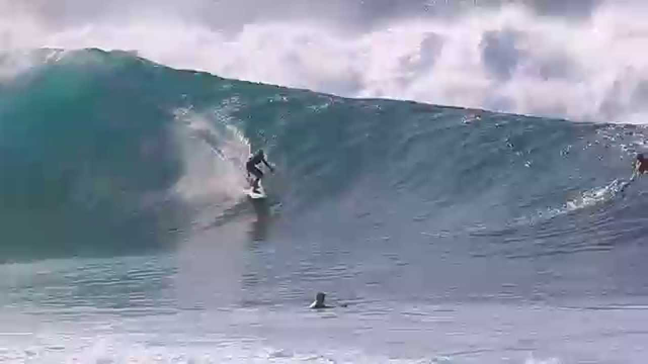 18ed3b25ca EPIC Pipeline Surf! North Shore Oct 30 2015 - YouTube