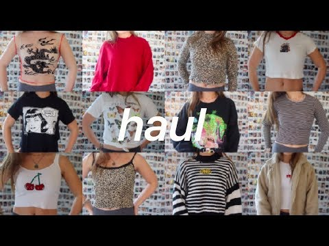 here's yet another haul because i'm unoriginal +GIVEAWAY