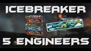 Warface - Insane ICEBREAKER 5 ENGINEERS
