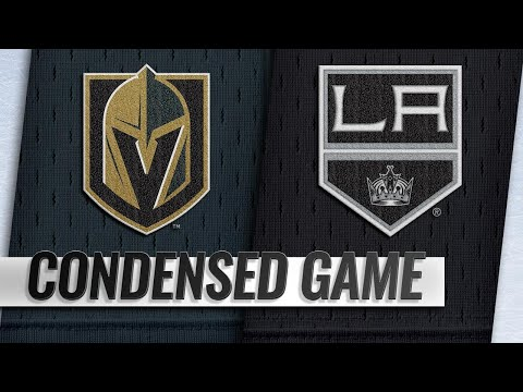 12/08/18 Condensed Game: Golden Knights @ Kings