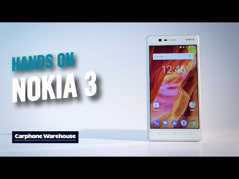Nokia 3: Hands On