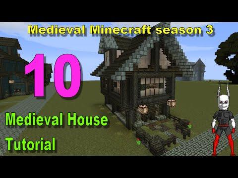 Minecraft: Medieval House Tutorial [part 10 season 3]
