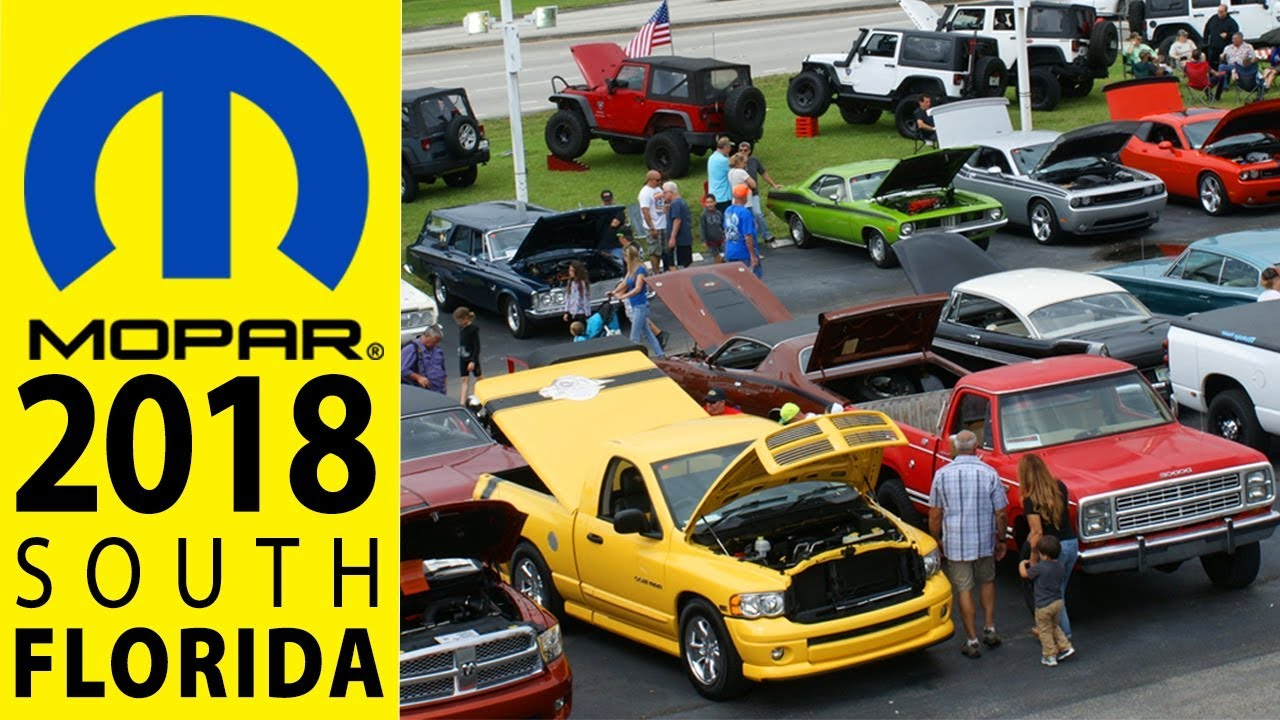 South Florida Car Shows: 2018 MOPAR Nationals Car Show In South Florida