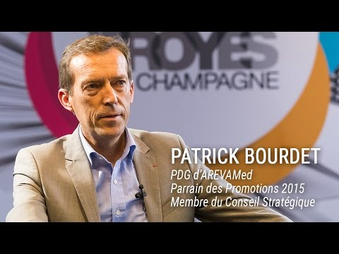 Interview de Patrick Bourdet, Parrain des Promotions 2015