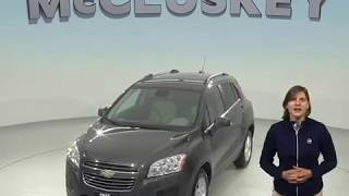 A98466GP Used 2016 Chevrolet Trax LT FWD 4D Sport Utility Gray Test Drive, Review, For Sale -