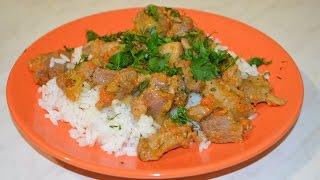 Рецепт филе индейки (Анти фаст фуд). Тушеное мясо.