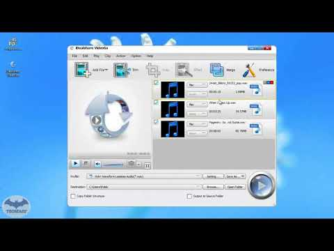 Convert FLAC to Apple Lossless M4A on Mac or Windows
