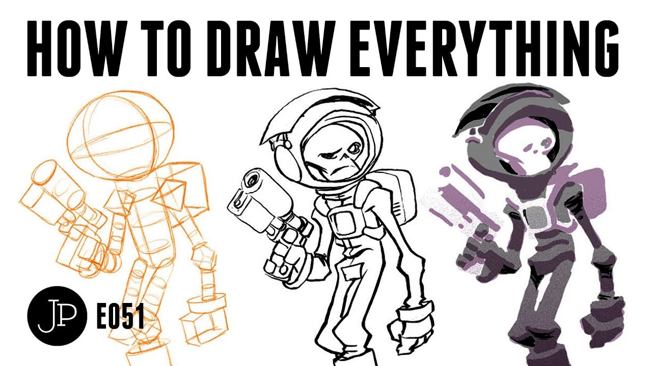 How To Draw Everything Youtube