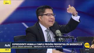 Entrevista al abogado de Ollanta Humala y Nadine Heredia│RPP