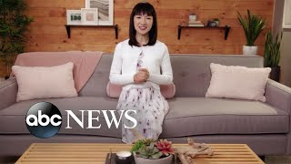 Marie Kondo shares tricks to get organized in the new year on 'GMA'