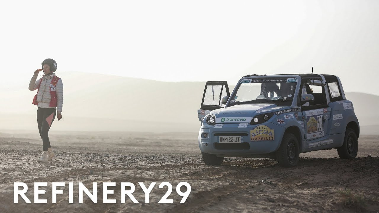 Why 300 Women Off-Road Through The Moroccan Desert | Refinery29