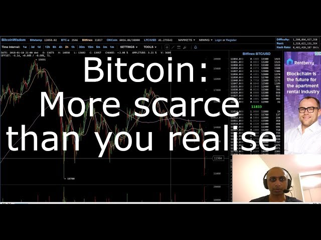 Bitcoin: more scarce than you realise