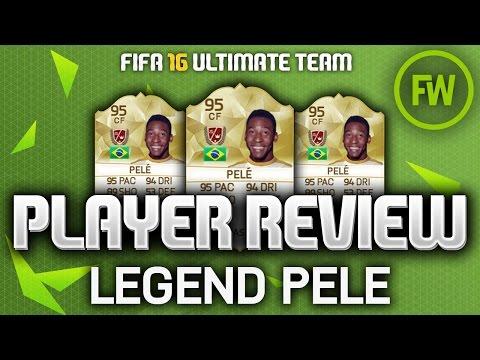FIFA 16 LEGEND PELÉ (95) *RAREST LEGEND* PLAYER REVIEW (FIFA 16 ULTIMATE TEAM)