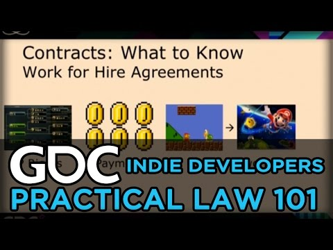 Practical Law 101 For Indie Developers: Not Scary Edition