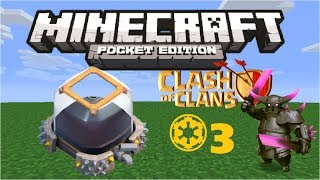 "Minecraft Pocket Edition: Clash of Clans #3 ""Dark Elixir Storage"" (Maxed Base)"