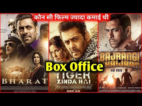 Bharat Vs Tiger Zinda Hai Vs Bajrangi Bhaijaan Box Office Collection | Which Film Wins?