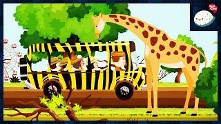 [씽씽츄] #20 유라와 츄의 사파리 투어를 하다 생긴 일! 동물원 곰 기린 코끼리 사자 동물 먹이주기 체험 사파리버스 만화 애니메이션 키즈