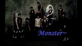 Repeat youtube video Super Junior - Monster (English Lyrics)