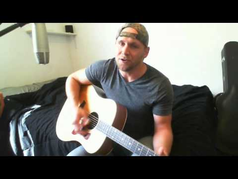 Crash My Party - Luke Bryan (Tyler Folkerts Acoustic Cover)