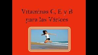 Las vitaminas venas varicosas para curar