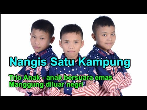 Trio Anak Anak Ini Bikin Nangis Satu Kampung