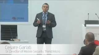 Mobile World Congress 2012 - Mobile Security Forum - Consumerization is disruptive