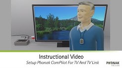 Setup Phonak ComPilot For TV And TV Link