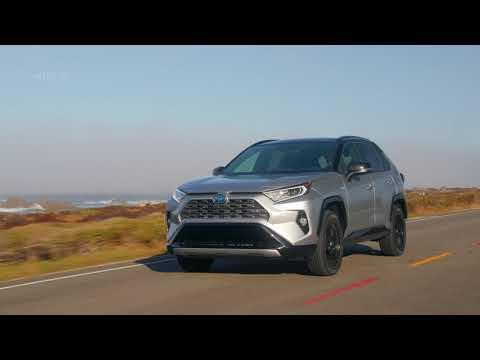 2019 Toyota RAV4 XSE HV SilverskyMetallic - Exterior, Interior, Drive