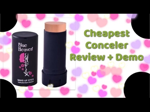 Review: Blue Haven Pan Stick/ Blue Haven Makeup Stick/ Cheapest Concealer under Rs 100 / How to use