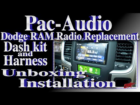 New Dodge Ram Radio Replacement Kit From Pac Audio The RPK4 CH4101 Beta Review And Install