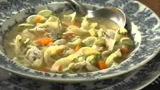 Ginger Chicken Noodle Soup Recipe In Description