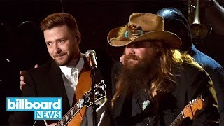 justin timberlakes duet with chris stapleton teased on twitter billboard news