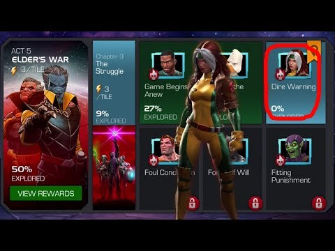 MARVEL CONTEST OF CHAMPIONS: STORY QUEST ELDER'S WAR The Struggle: ACT 5.3.3