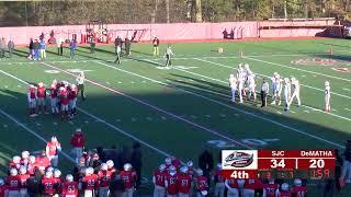 1st Amendment Sports WCAC Game of the Week: St Johns vs DeMatha Football