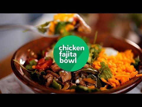 Cooking keto: Chicken fajita bowl