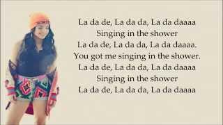 Becky G Shower (lyrics)