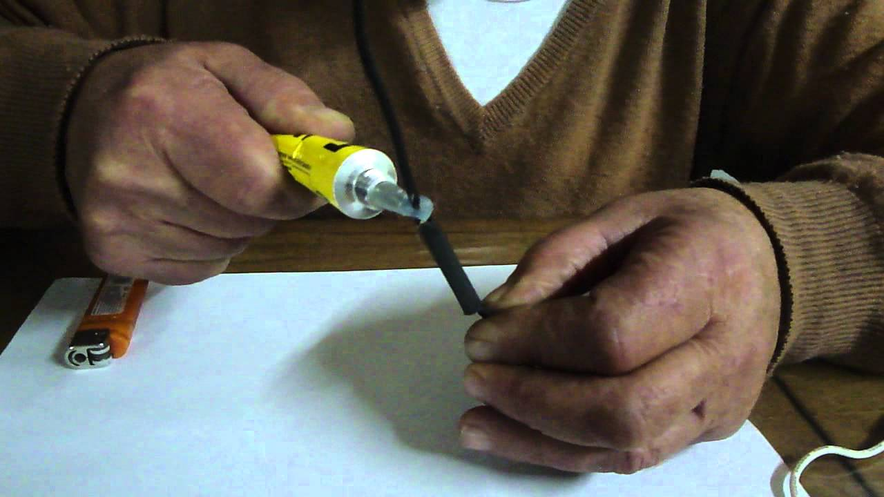 Elije la medida Termoretractil Tubo Funda Heat Shrink Tube Tubing Sleeve Negro