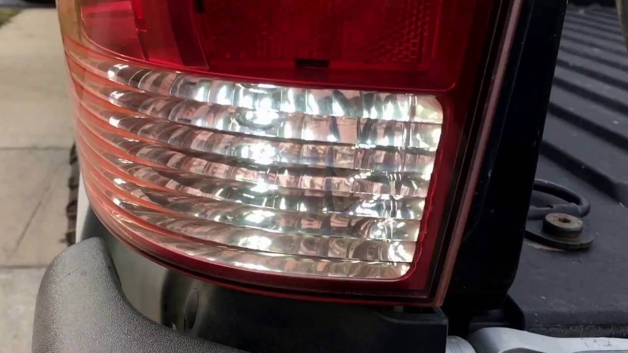 2007 Toyota Tacoma Led Reverse Lights