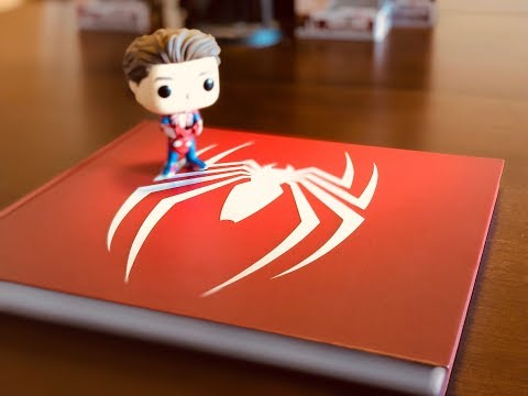 spider-man:-the-art-of-the-game-art-book