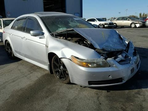 Acura TL Parts Car Silver YouTube - 2005 acura tsx parts