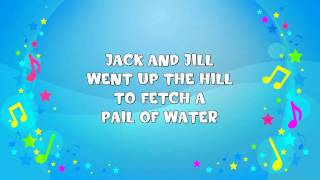 Jack and Jill | Sing A Long | Nursery Rhyme | KiddieOK