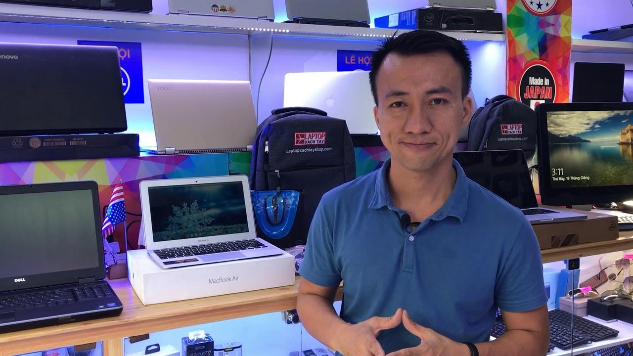 Đánh giá review Macbook air 11 inch tại Laptop xach tay shop