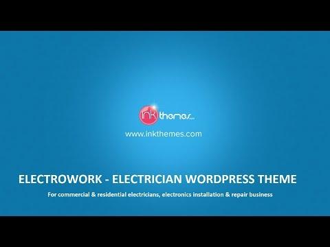 Online Electrician WordPress Theme